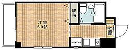神奈川県川崎市中原区上新城1の賃貸マンションの間取り