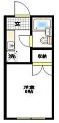 サンハイツクロダ[2階]の間取り