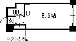 シャトー北24条[00310号室]の間取り