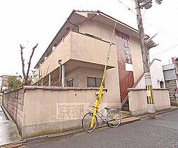 京都府京都市左京区田中野神町の賃貸アパートの外観