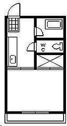 第一ウィスタリア[301号室]の間取り
