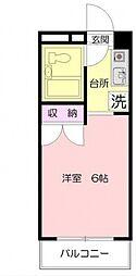 Kマンション[301号室号室]の間取り