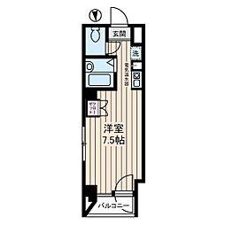 宮崎ビル[7階]の間取り