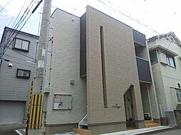 JR片町線(学研都市線) 鴻池新田駅 徒歩10分の賃貸アパート