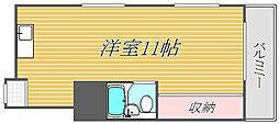 東京都大田区南雪谷4丁目の賃貸マンションの間取り