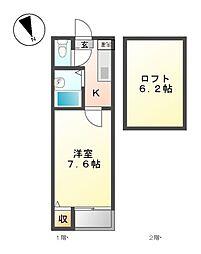 レミオロメン[1階]の間取り