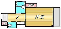 ハイツ25[3階]の間取り