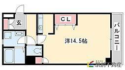 エコノテレステーション11[6階]の間取り