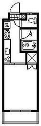 プチメゾン鶴島[401号室]の間取り
