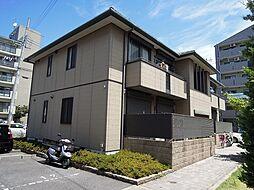 大阪府八尾市安中町6丁目の賃貸アパートの外観