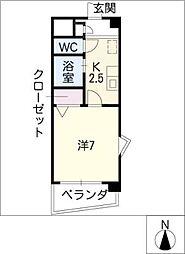 サニーコートII[3階]の間取り