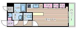 コンフォートレジデンス御堂筋本町[2階]の間取り