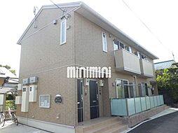 静岡県静岡市駿河区高松の賃貸アパートの外観