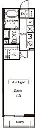 エルスタンザ北赤羽[3階]の間取り