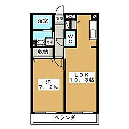 Casa d'Noah[2階]の間取り