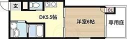 レリーフ瑞光 3階1DKの間取り