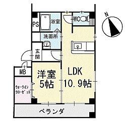 Crystal IslandーTatsumi 1階[101号室]の間取り