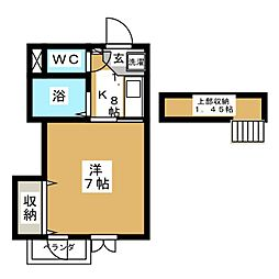 Access−I[2階]の間取り