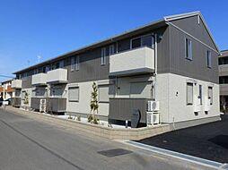 埼玉県鴻巣市広田の賃貸アパートの外観