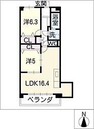 サムティレジデンス春日井[2階]の間取り