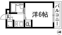 メゾンジュリアナモンド[3階]の間取り
