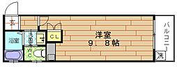 ピースフルコート[1階]の間取り