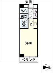 アーバンスペース駒[2階]の間取り