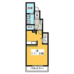 cerisier II棟[1階]の間取り