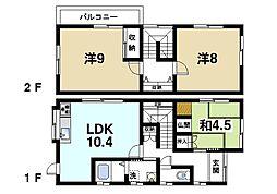 [一戸建] 奈良県奈良市高畑町 の賃貸【/】の間取り