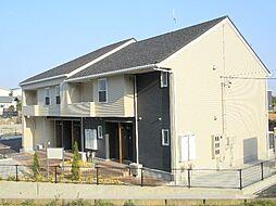 三重県三重郡菰野町大字竹成の賃貸アパートの外観
