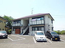 山口県山陽小野田市大字小野田の賃貸アパートの外観