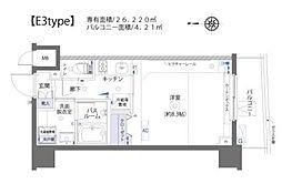 ZOOM板橋大山[5階]の間取り