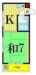 エスペランサ18[5階]の間取り