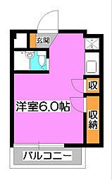 DAITAKU清瀬[3階]の間取り