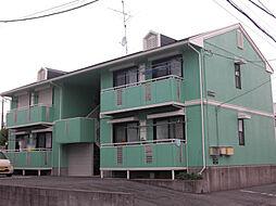 茨城県取手市戸頭6丁目の賃貸アパートの外観