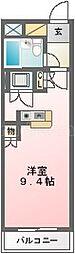 ローズマンションA28番館[206号室]の間取り