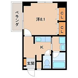 Ritz Carlton[9階]の間取り