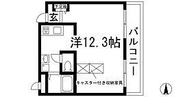 宝塚グリーンハイツ6号館[3階]の間取り