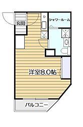 東京19ビル[3階]の間取り