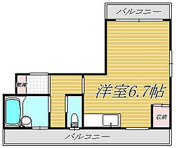 プチメゾンイナバ[302号室]の間取り