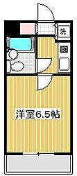 ロイヤルコーポ高井戸[3階]の間取り