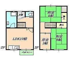 松が丘住宅[3階]の間取り