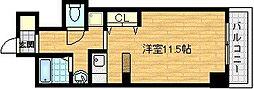 ブランメゾン堀川[6階]の間取り