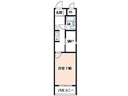 末広マンション[1階]の間取り