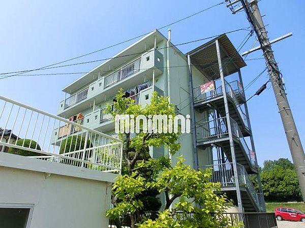 青島マンション[4階]の外観