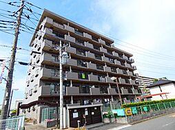 千葉県松戸市牧の原の賃貸マンションの外観