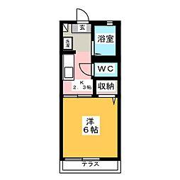 ソレーユ小泉[1階]の間取り