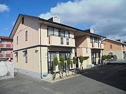 広島県東広島市西条下見5丁目の賃貸アパートの外観