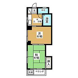 城ビル[2階]の間取り