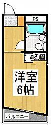 アーバンホーム日野台[2階]の間取り